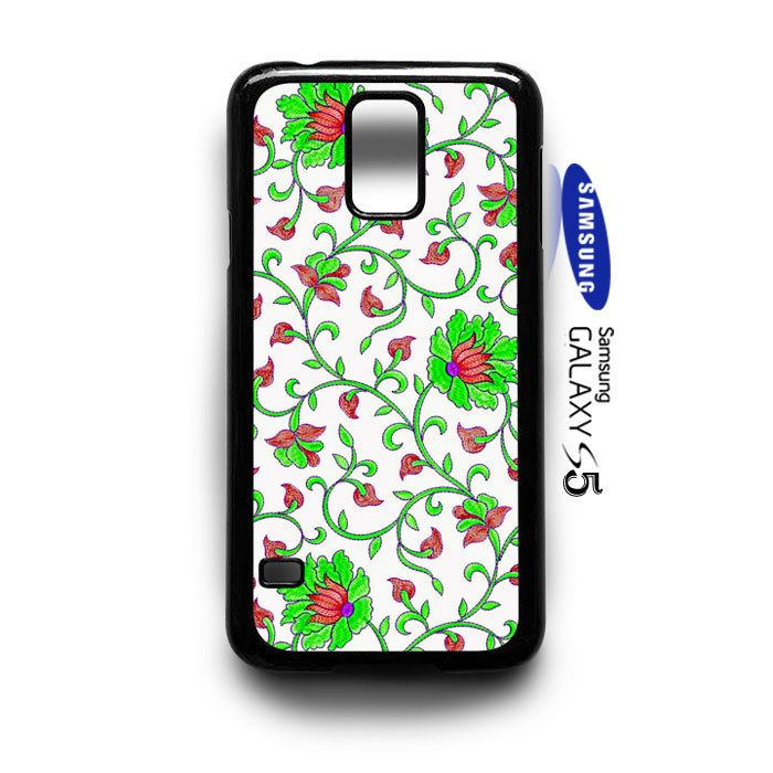 Beautiful Flower Pattern  Samsung Galaxy S5 Case Cover