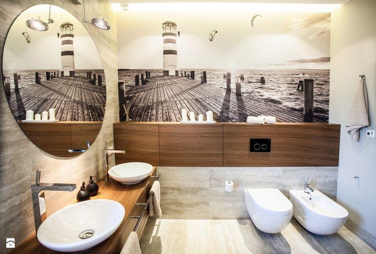 apartament nadmorski - zdjęcie od emDesign home & decoration - Łazienka - Styl Minimalistyczny - emDesign home & decoration