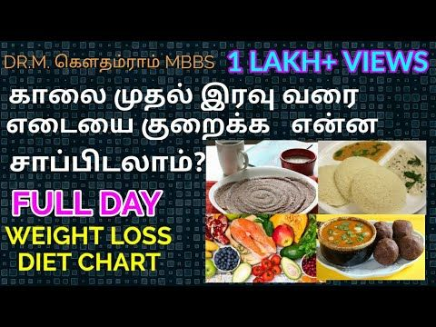 Diet chart for weight loss in Tamil, weight loss diet chart
