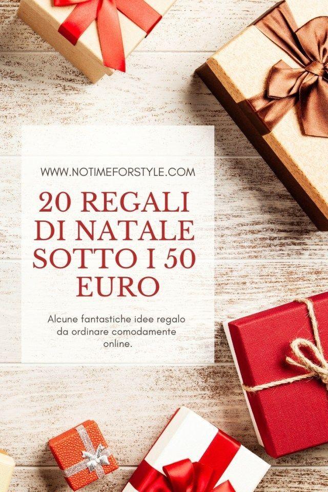 Regali Di Natale Da 20 Euro.Regali Di Natale 20 Idee Geniali Sotto I 50 Euro Regali Di Natale Regali Idee Regalo Di Natale