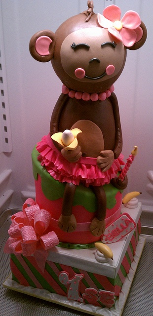 MONKEY CAKE by CAKES BY SUE, via Flickr