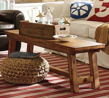 Love The Narrow Coffee Table
