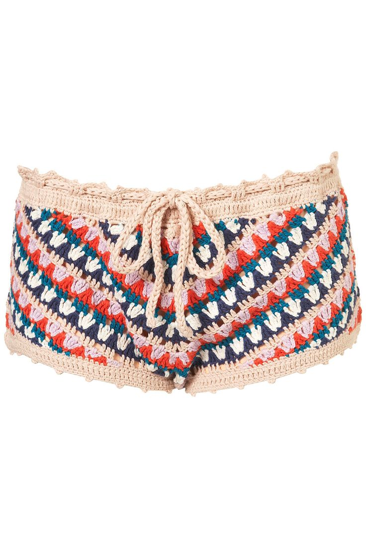 great, great crochet shorts