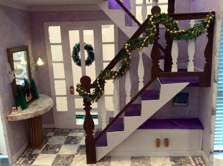 "Kathy K's  -1st floor  ""A Hallway for All Seasons"" designed by Ron Mummert"