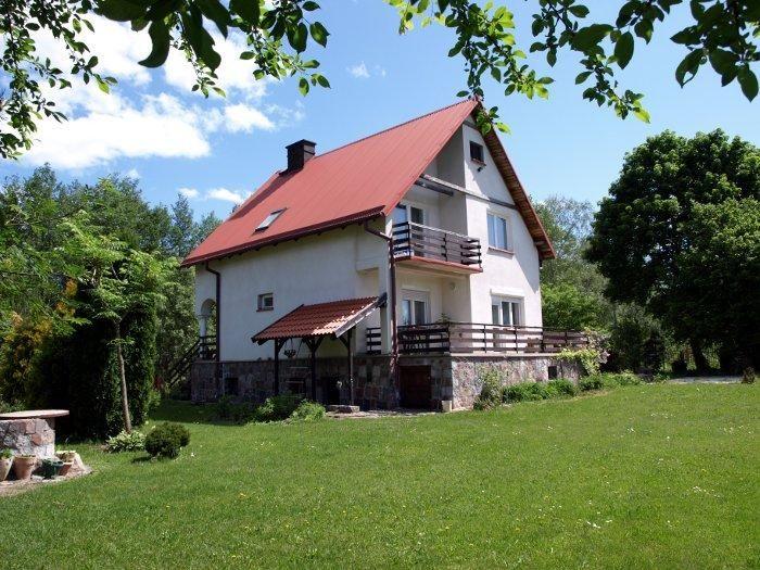 Domy i domki na Mazurach - Dom nad jeziorem w Kleszczewie