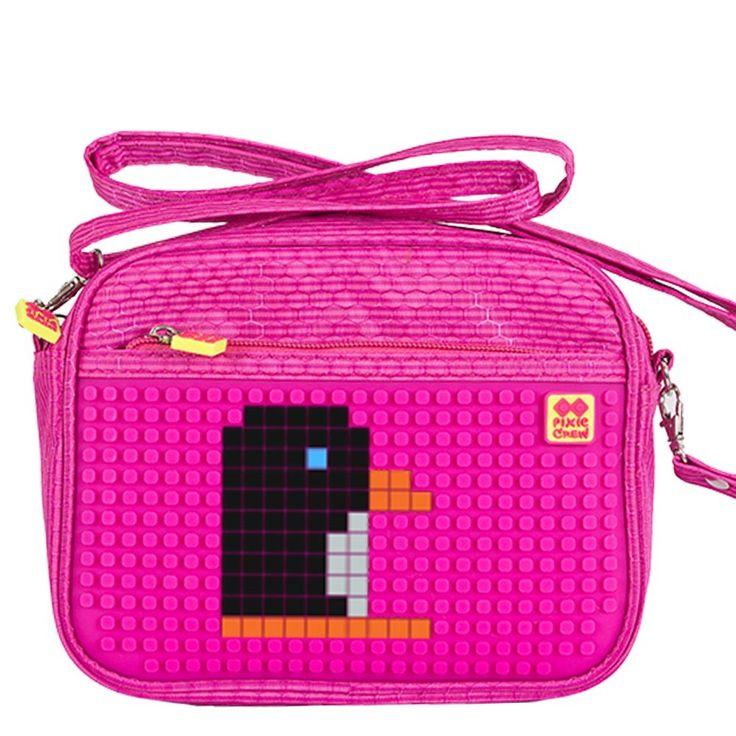 PIXIE CREW Handbag FUCHSIA/FUCHSIA - No pattern - Shoulder Bags  | Pixie Crew