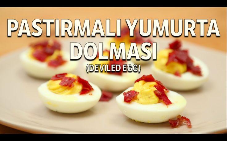 Kahvaltıda Değişik Bir Şeyler Denemeye Ne Dersiniz? İşte Pastırmalı Yumurta Dolması
