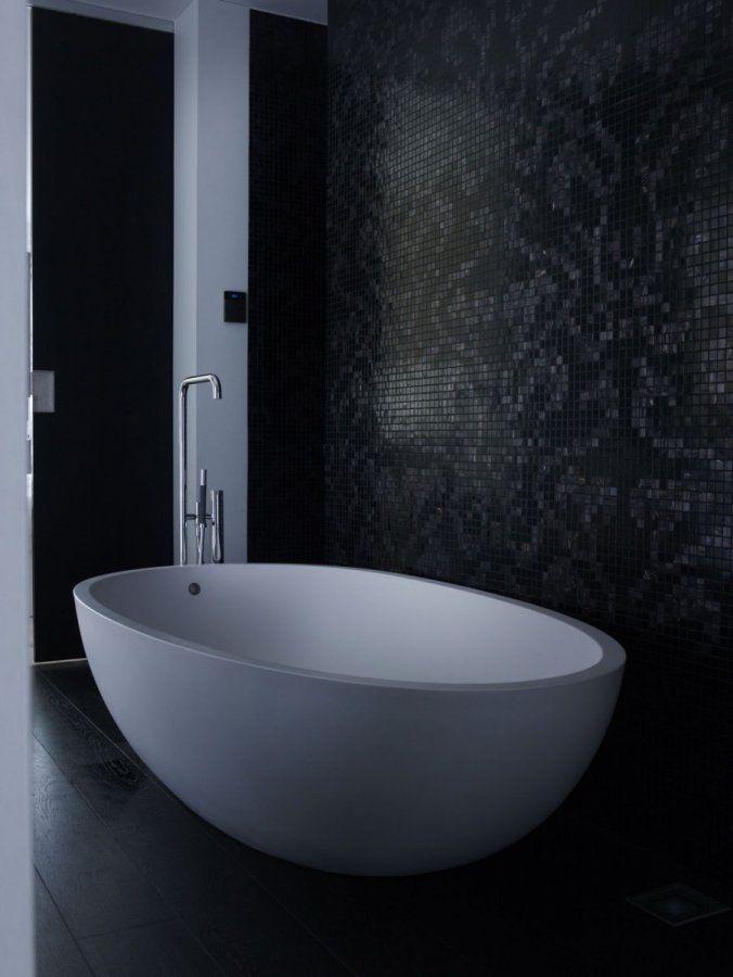 Modern interieur met beton meer interieur inspiratie kijk op badkamer - Model badkamer design ...