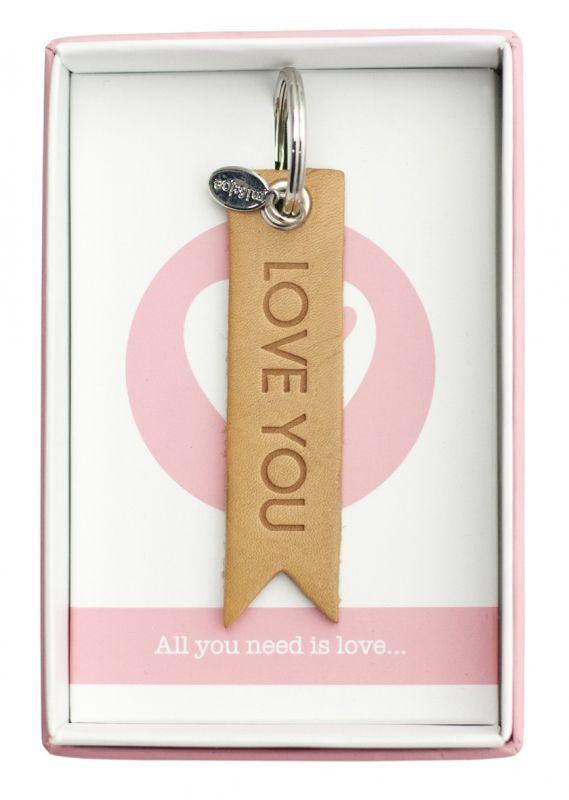 Mi & Joe sleutelhanger Love you