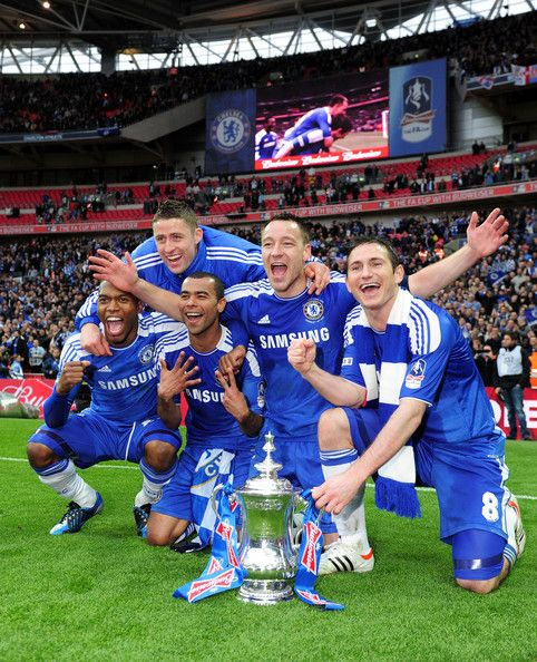 Trophy #Soccer #Futball #Football #Chelsea #FA Cup