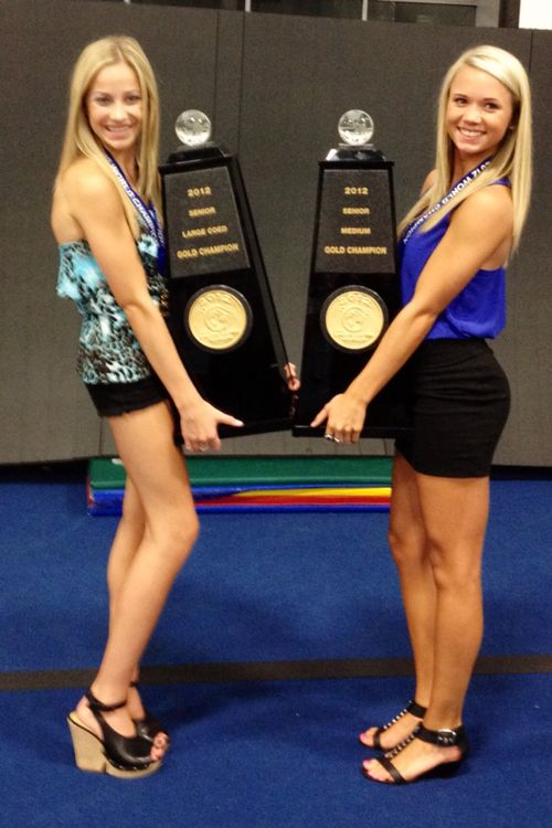 Carly Manning and Peyton Mabry also http://pey-attention.tumblr.com/post/29241223690 #cheer p.0.1  #KyFun
