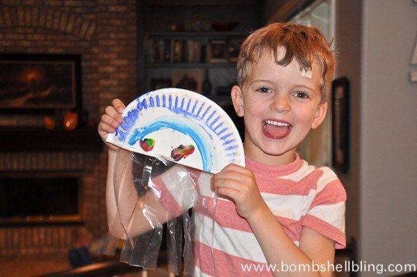 Sea Creature Kid Crafts-13