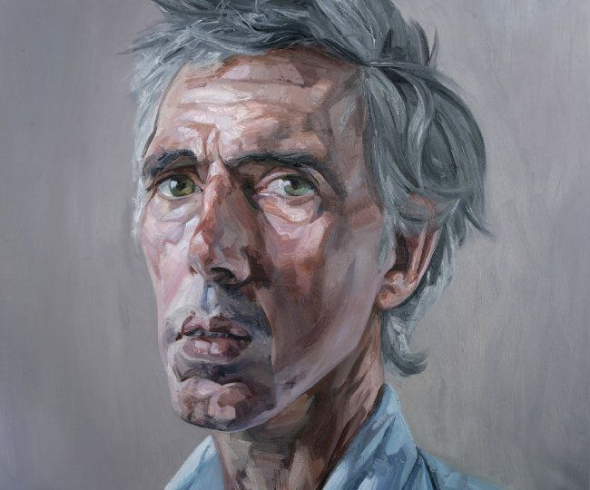 Tai Shan Schierenberg - The Existentialist, Oil on canvas, 152 x 204cm