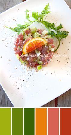 Tartare di tonno con sedano e agrumi - Trattoria da Martina - cucina tradizionale, regionale ed etnica