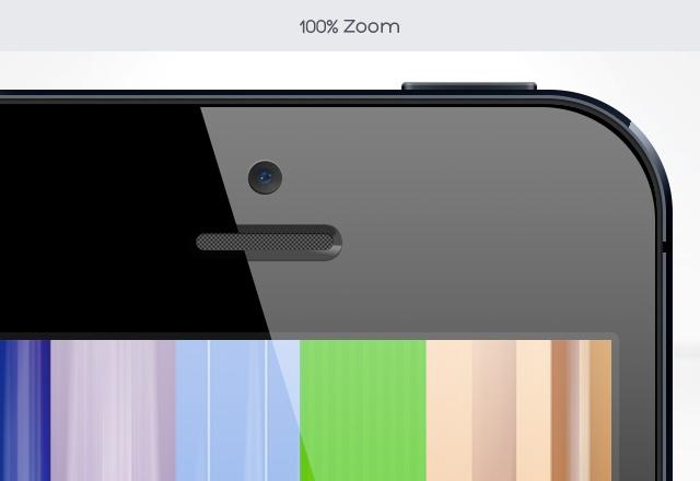 iPhone 5 - Free PSD Mock-up  http://medialoot.com/item/free-retina-iphone-5-mock-up/
