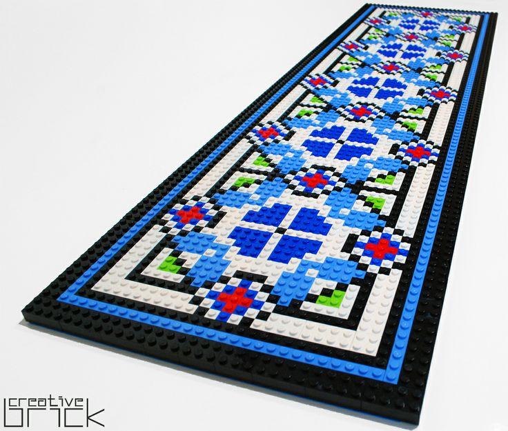 Around 1600 LEGO bricks used, Dimensions: 90 cm x 26,3 cm (35,2 inch x 10,2 inch) by www.creativebrick.ro