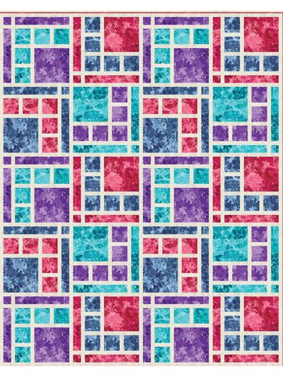 Versatility and simple elegance, this quilt pattern was made to showcase beautiful fabrics. You may choose simpler prints for a modern look, but this quilt really makes any type of fabric shine! This includes full color graphics and her best tips and...
