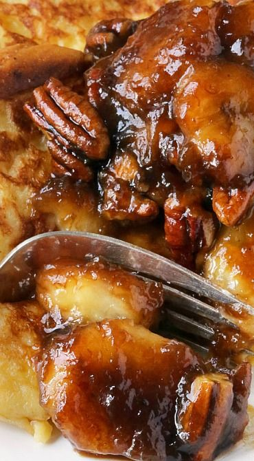 Bananas Foster French Toast (gluten-free, dairy-free, whole grain options)