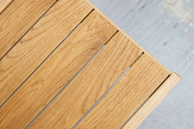LOGチェア ナラ材 板座面