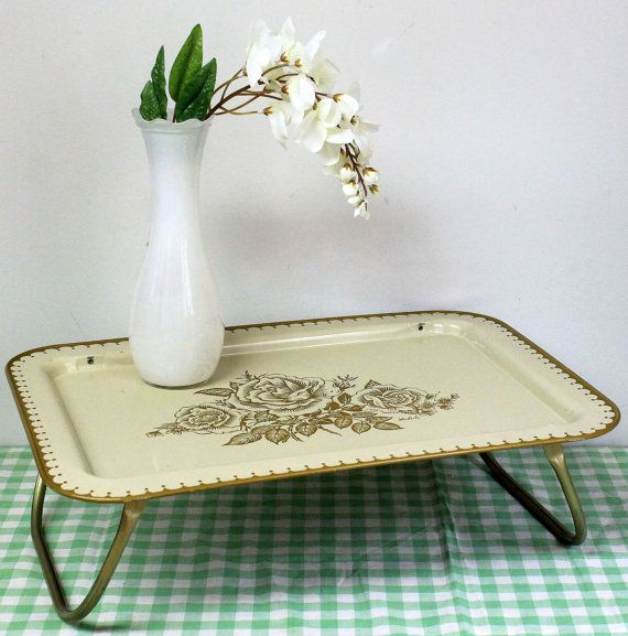 Graphic Tray Handcrafted From Ivory And: Breakfast Bed Tray