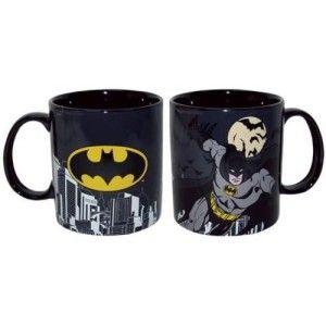 Westland Giftware Batman Mug Set This set is dishwasher and microwave safe.