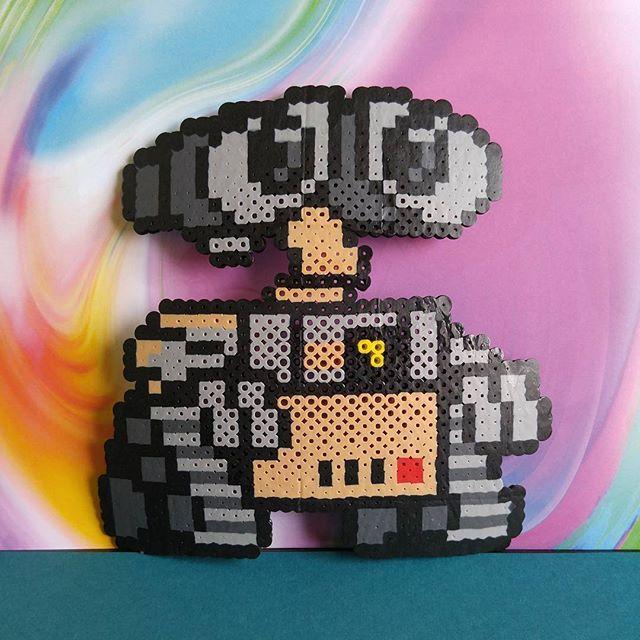 Wall-E perler beads by b1u3sky                                                                                                                                                                                 More