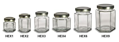 PRODUCT: I love hexagon shaped jars. They stack, they can be pushed flat against the wall, they play nicely with one another in very tight spaces and they're easier to grip.