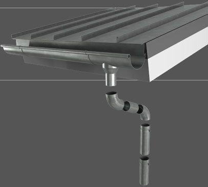Couverture de toit en tôle d'acier / en acier galvanisé / à joint debout MAZZONETTO
