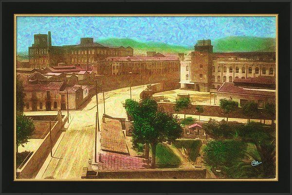 Barcelona Framed Print featuring the painting Fabra I Coats De Sant Andreu 1920 by Joaquin Abella (scheduled via http://www.tailwindapp.com?utm_source=pinterest&utm_medium=twpin&utm_content=post82904377&utm_campaign=scheduler_attribution)