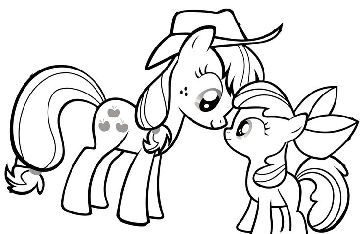 mlp fim printable coloring pages - photo#6