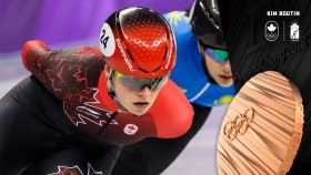 Kim Boutinhas won her second short track speed skating medal of PyeongChang 2018, taking bronze in the 1500m. Boutin had...