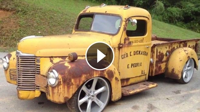Insanely Awesome 1947 International Rat Rod Truck - Here, we've so far presented so many vehicles ranging from extremely powerful aircrafts to badass military truck.