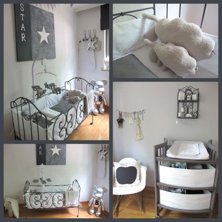 Chambre de b b chambre b b d coration nursery gar on for Decoration interieur chambre bebe