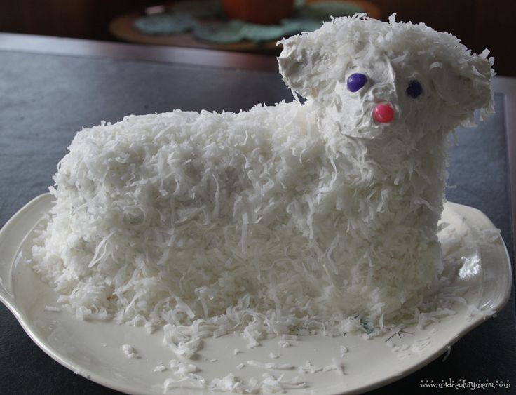 "awesome!! i scored a retro lamb cake pan set not too long ago and failed miseably at creating anything that even resembled a lamb! so glad i stumbled on this how-to!!!  10 Tips For The Perfect Retro Easter Lamb ""Lambie"" Cake"