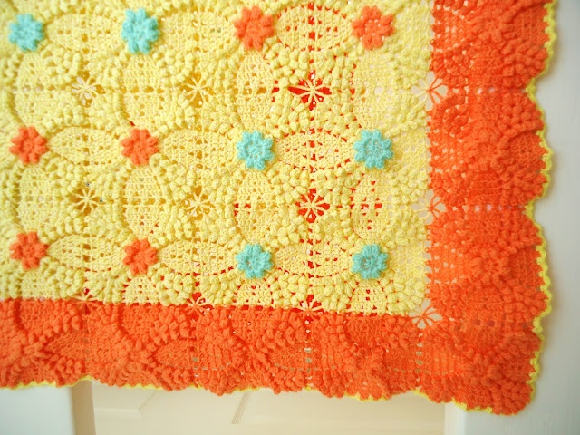 Free Crochet Popcorn Baby Blanket Pattern : 1000+ images about Crochet Afghans for Girls on Pinterest ...