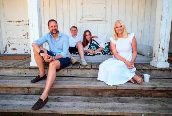 Norwegian Crown Prince Family released their 2019 summer holiday photos
