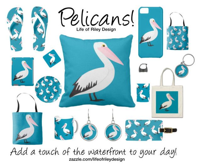 """Pelicans!"" by lifeofrileydesign on Polyvore"