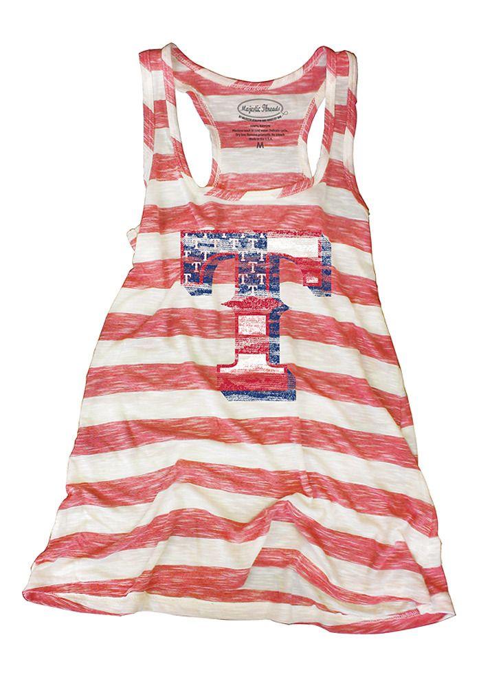 Texas Rangers Womens Majestic Threads Red/White 4th of July Tank http://www.rallyhouse.com/shop/texas-rangers-texas-rangers-womens-majestic-threads-redwhite-4th-of-july-tank-18243399?utm_source=pinterest&utm_medium=social&utm_campaign=Pinterest-TexasRangers $33.99