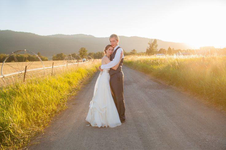 Mountain Style Wedding - the light!