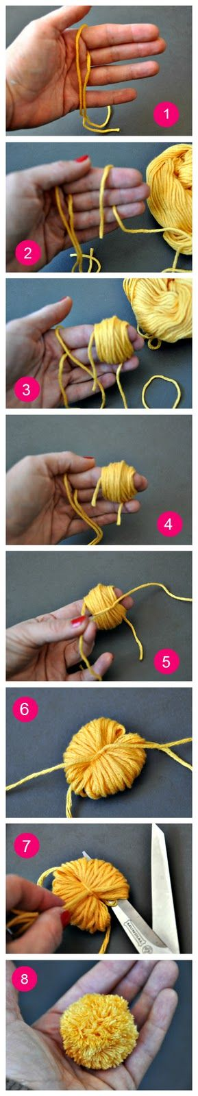 I'm definitely making these for toys for our cat. Or to throw at people when I have road rage.