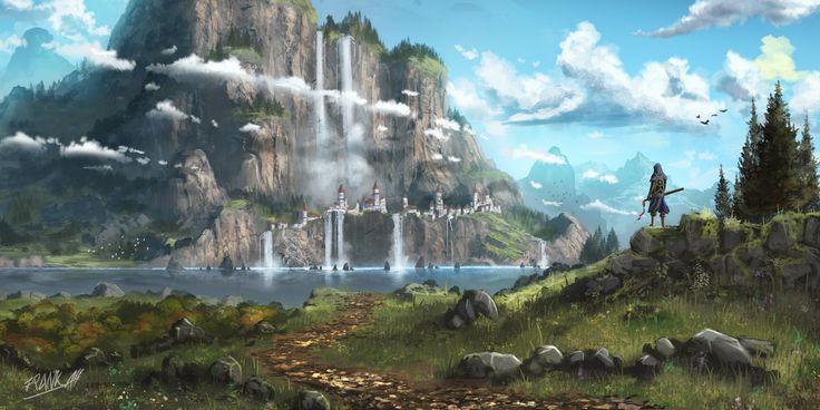 Across the vast dragon realm essay