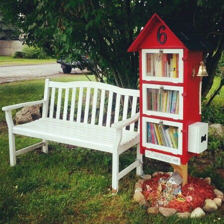 firehouse little free library