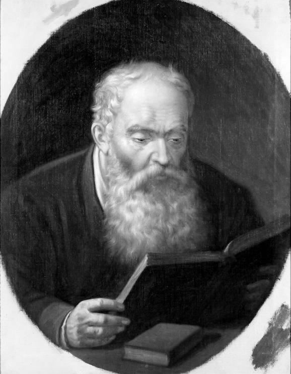 Mișu Popp – Tatal pictorului citind