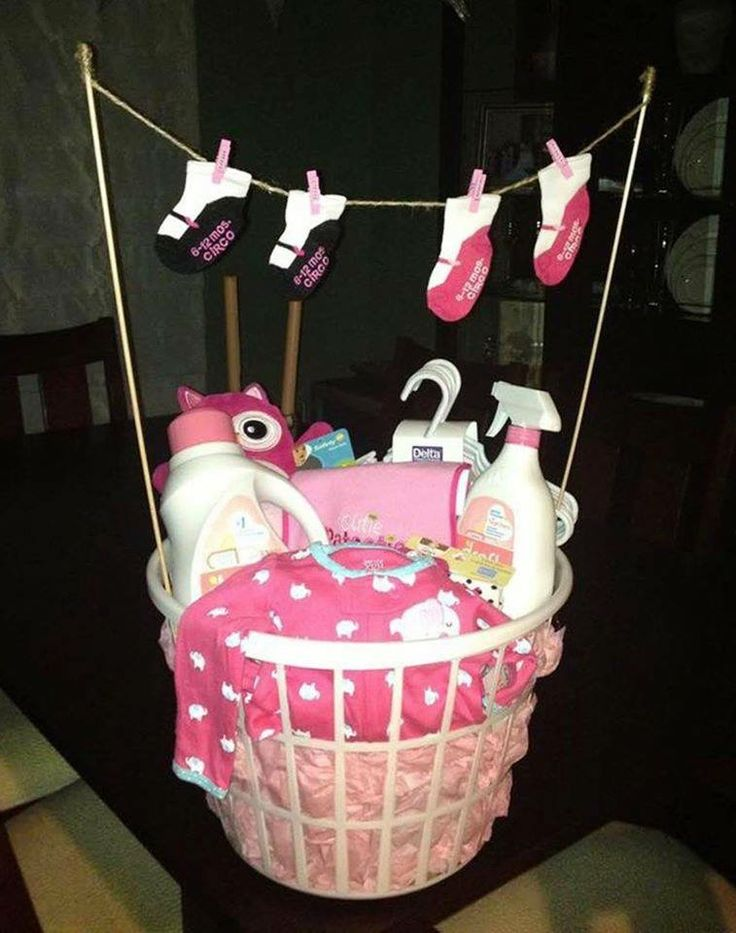Cute Baby Basket I Love The Clothesline Showers