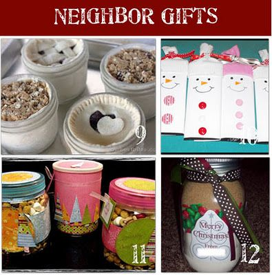 186 Neighbor Christmas Gifts. Could be good for coworkers, teachers, etc.