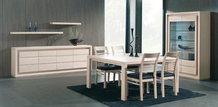 ZIVA - Prachtige eetkamer in hedendaagse stijl. Met z'n verfijnd lijnenwerk volgt dit zeker de mode | Meubelen Crack