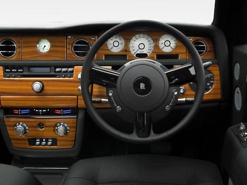 **Rolls Royce interior.
