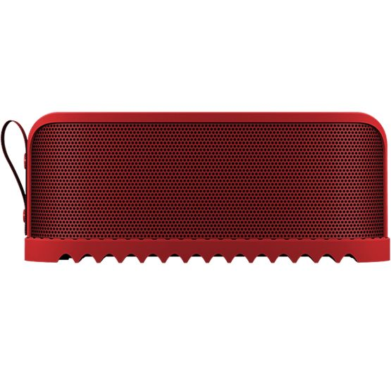 Jabra Solemate RedJabra Solemate puts massive sound, portability and durability in a playfully designed wireless speaker that you can take anywhere. It comes in black, blue, grey, red, white and yellow. Which is your favourite?
