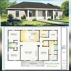 The Mayfield Custom House Home Building Plans 1944 square