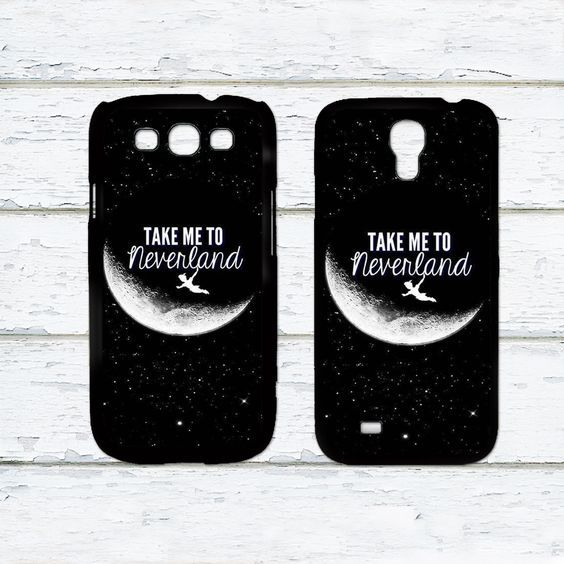 Take Me To NeverLand,Peter Pan Phone Case For Samsung Galaxy S6/S5/S4/S3/S2/S5 mini/S4 mini/S3 mini/S5 Active/S4 Active/Note 4/Note 3/Note 2/Ace 3/Ace 2/Ace